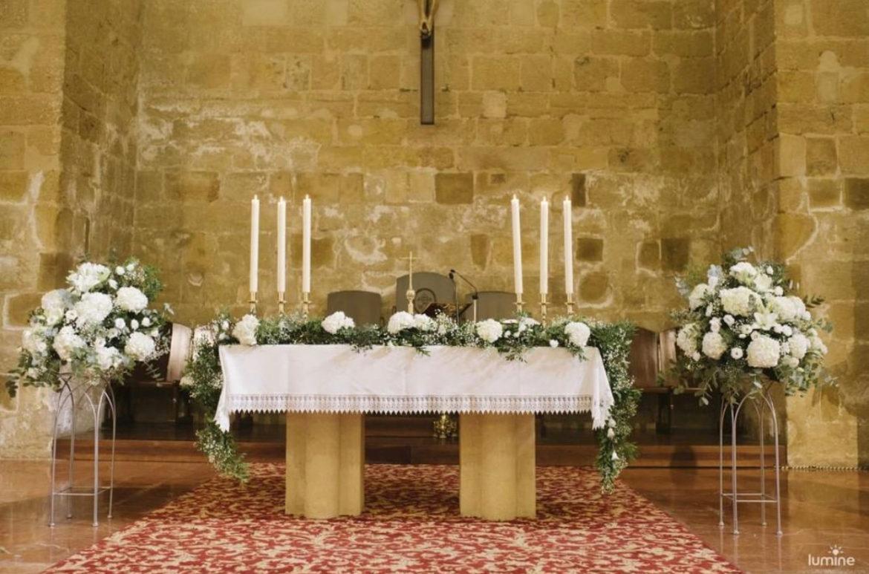Altar Iglesia Boda Catolica