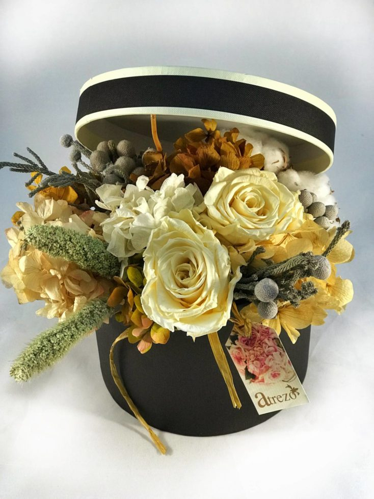 Caja flores variadas