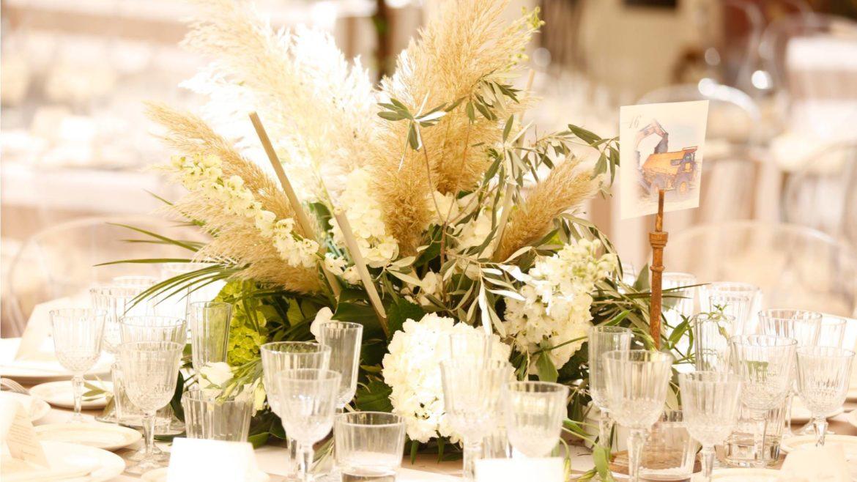 Centro Mesa Boda Flores Blancas 1