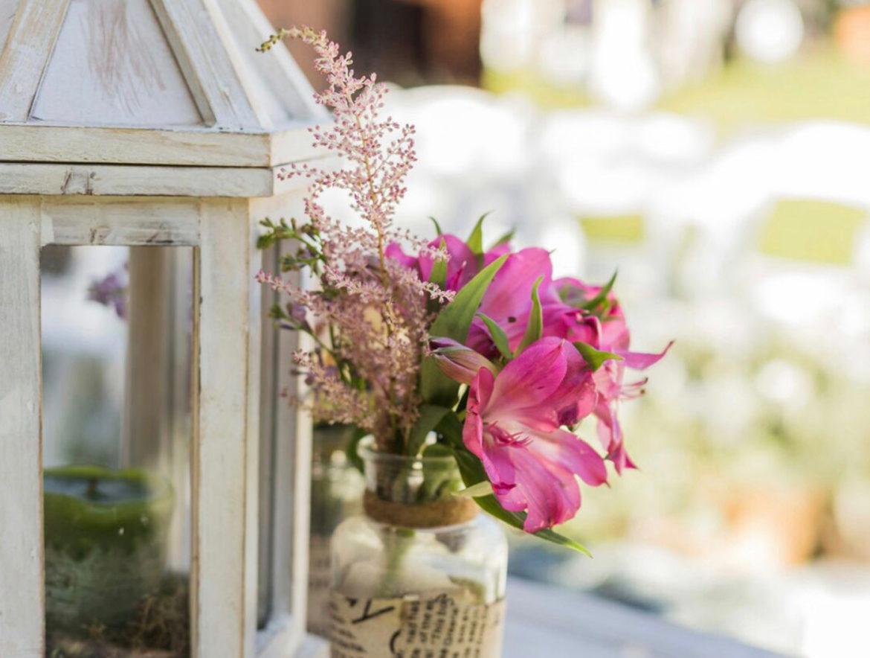 Decoracion De Rincones Con Flores