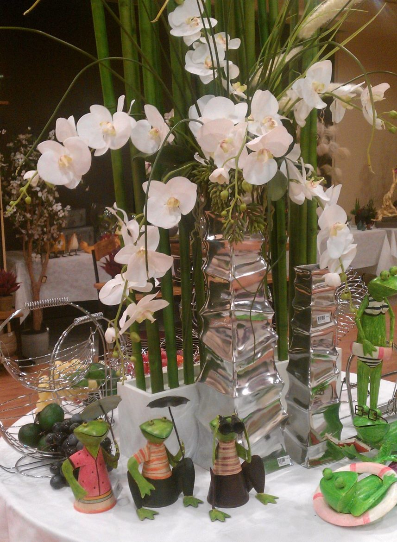 Ranas Y Flores Blancas 2