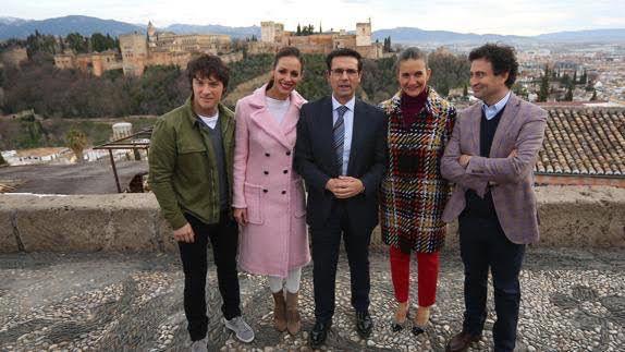 Decoracion Floral Para Master Chef En Granada Con Alcalde De Granada