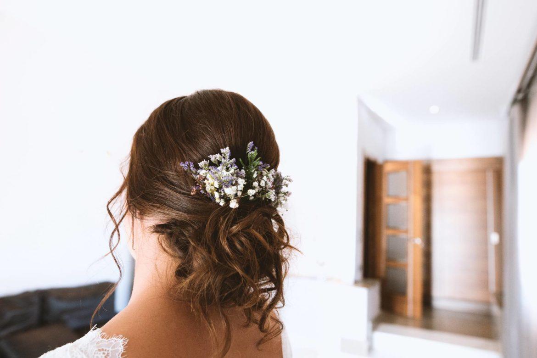 Detalles Florales Para El Peinado Boda