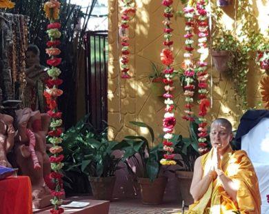 Flores estilo hindú