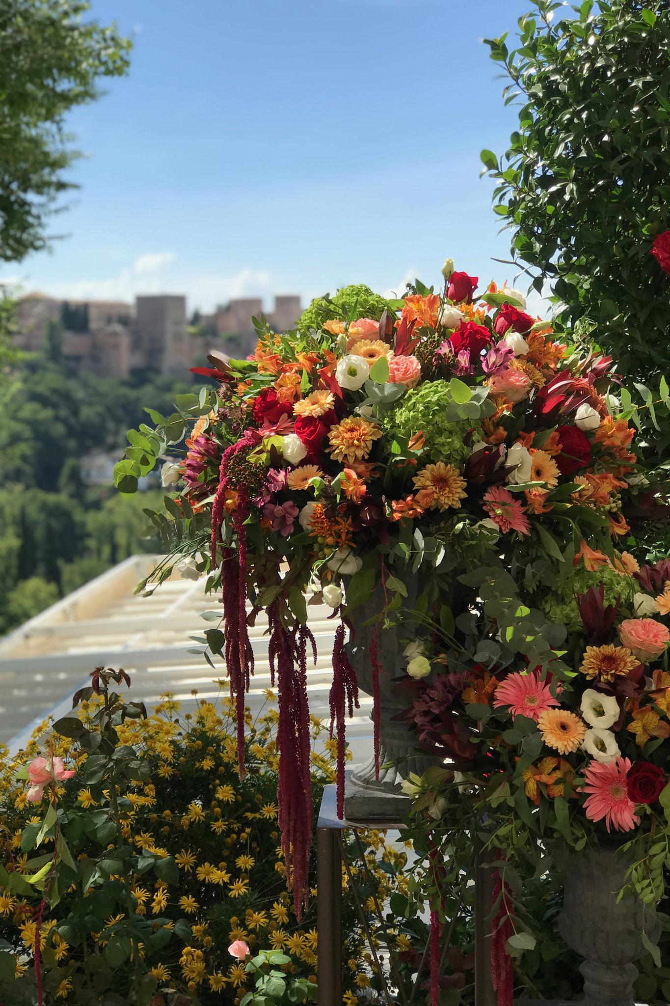 Decoraciones Exteriores Florales