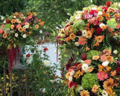 Centros florales variados