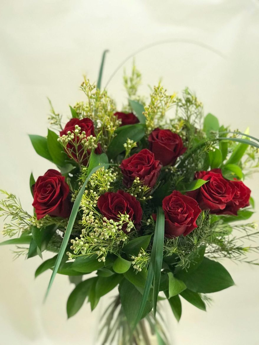 Bouquet Rosas 12 Uds