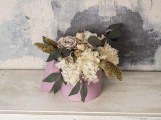 Caja Flor Preservada Romantica Grande