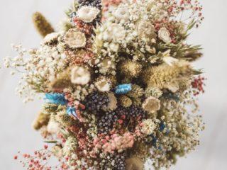 Ramo De Flores Preservadas Secas Variado Silvestre
